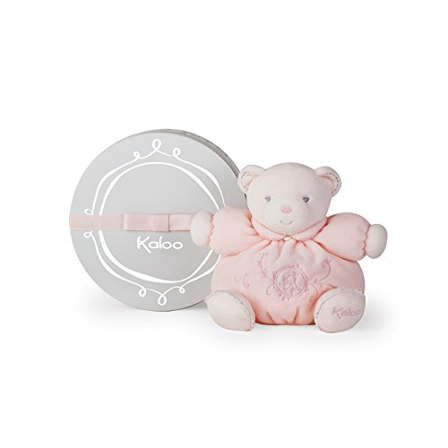 Kaloo Perle Plush Toys, Pink Small Chubby Bear, Small, used for sale  Delivered anywhere in USA