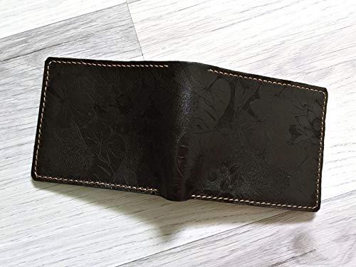 Amazon.com: Unik4art - Cartera de piel auténtica Koi Fish ...