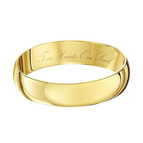 Theia Bague 9carats (375/1000) Or jaune Unisexe - Taille 59 (18.8)