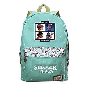 Stranger Things Zaini Casual Zaino casual Borsa da scuola per donna Zaino per scuola superiore Zaino coreano marea multicolore unisex (Color : A01, Size : 30 X 14 X 42cm)