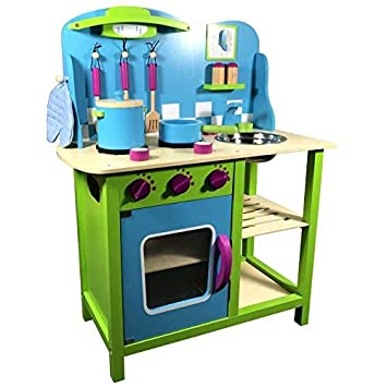 Tiktaktoo Cucina per Bambini in Freschi Colori ~ Verde Mela ...