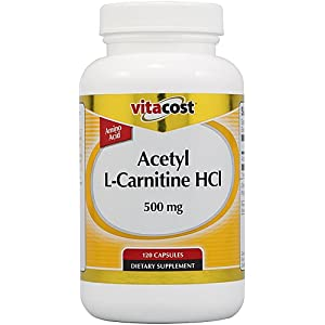 Vitacost Acetyl L Carnitine HCl 500 mg 120 Capsules