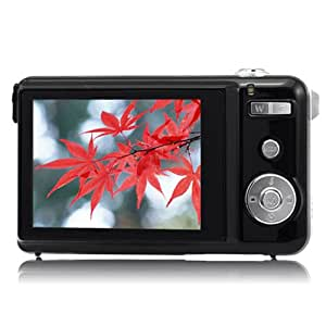 DC1500 2.7 Inch TFT LCD Screen Max 15.0 Mega Pixels Digital Camera -Black