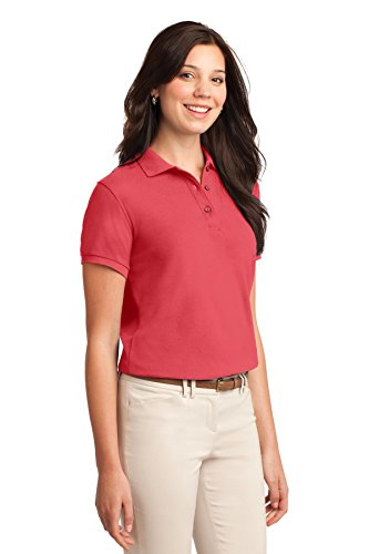 Hibiskus Port Silk L500 Touch Authority Damen Polo qYawxgBfY