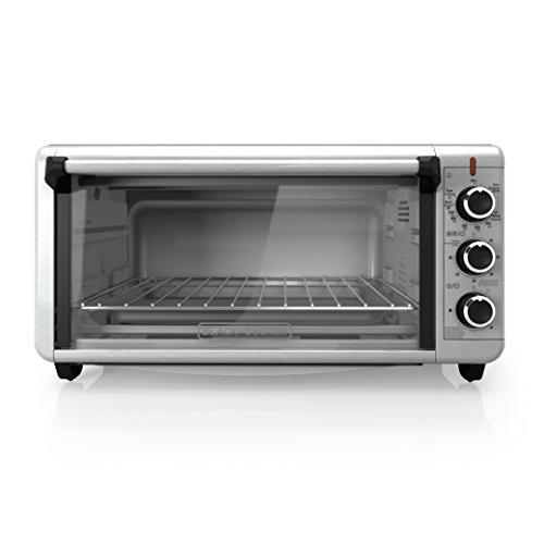 DECKER TO3250XSB 8-Slice Extra Wide Convection Countertop Toaster Oven ...