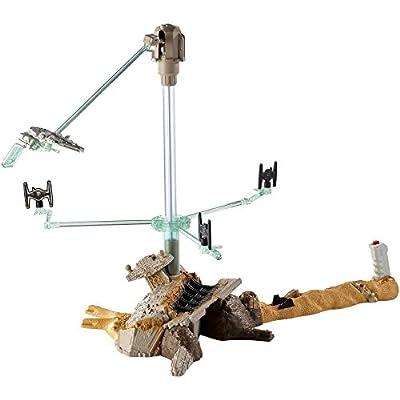 Hot Wheels Star Wars Escape from Jakku Play Set, Standard Packaging: Toys & Games