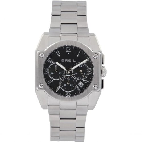 Breil TW1127 - Reloj de pulsera para hombre, negro/plata