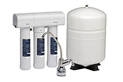 EcoPure ECOP30 No Mess Reverse Osmosis System - Built in USA - NSF Certified - Premium Water Filtration System