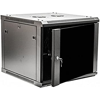 Amazon.com: Navepoint 12U Deluxe IT Wallmount Cabinet Enclosure 19 ...
