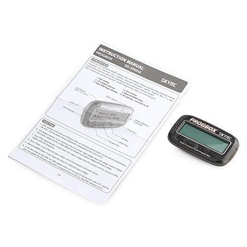 Wikiwand SKYRC SK-300046 PROGBOX ESC Program Box RC Motor Tester Lipo Battery Monitor by Wikiwand (Image #7)