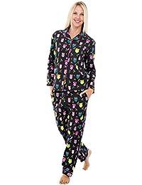 Rossa franela pijamas de la mujer, del largo algodón PJ Set