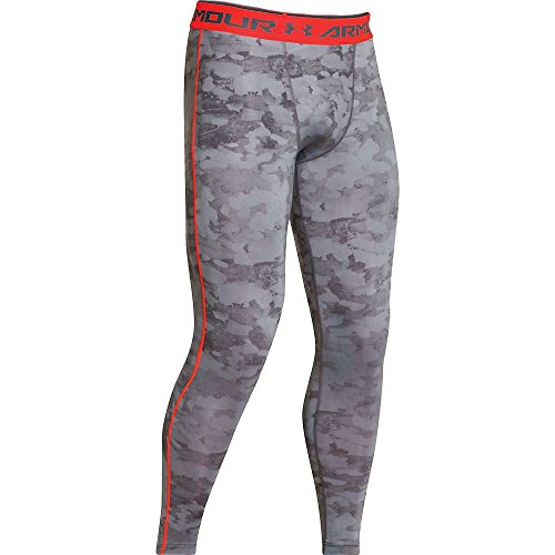 Under Armour HeatGear Printed Compression Tights - Medium - Grey by Under Armour (Image #2)