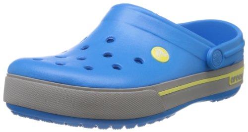 Crocs Crocband II.5 Clog, Sabots Mixte Adulte Bleu (Ocean/Citrus)