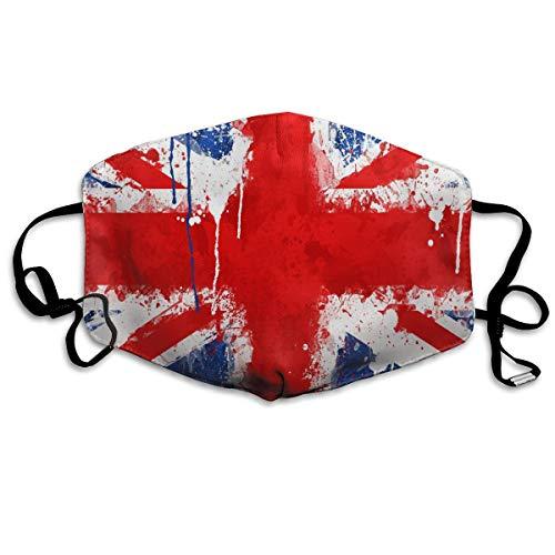 Game Life British Flag Fashionable Masks Unisex Anti Dust Face Mouth ()