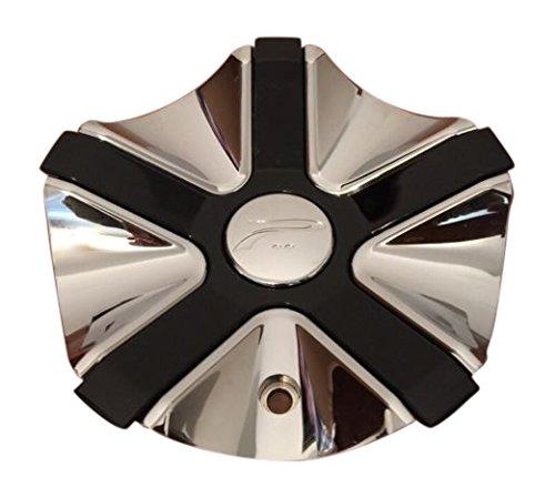Platinum Widow 89-9211C A89-9211C 56742090F-1 Chrome and Black Center Cap