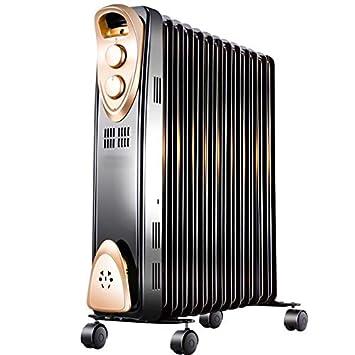 ZZHF Calentador, Calentador de Aceite doméstico, Estufa, Calentador eléctrico Vertical, Estufa de