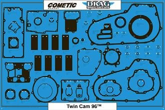 Cometic 9903-0313 Gasket/Seal/O-Ring Display (for Twin Cam Motor/Transmission/Primary Board)