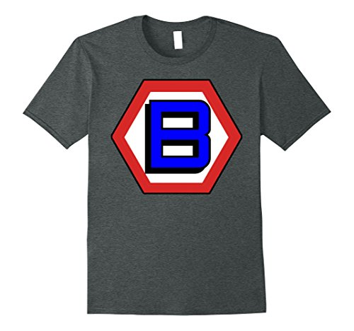 Make Your Own Halloween Costumes For Men (Mens Make Your Own Superhero B Halloween Costume T-Shirt XL Dark Heather)
