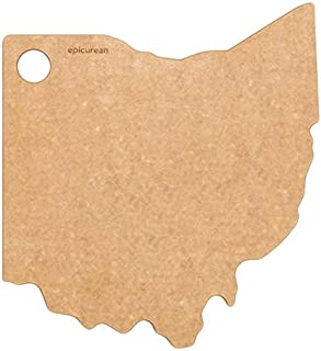 product image for Epicurean, Natural State of Ohio Cutting and Serving Board, 11 10-Inch, Inch Inch