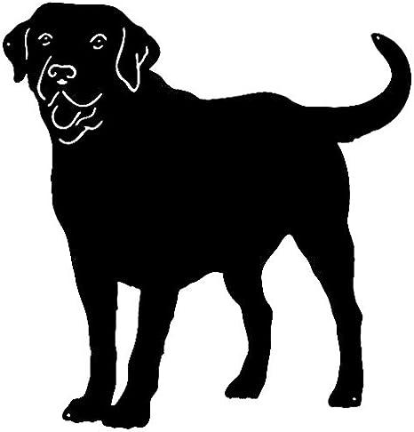 Golden Retriever Metal Dog Silhouette Garden Decor