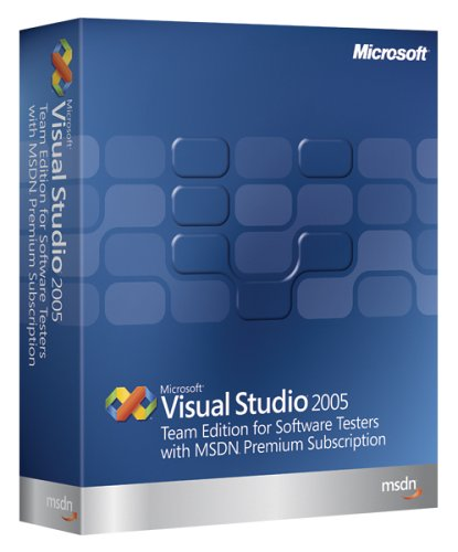 Microsoft Visual Studio Team Edition for Software Testers 2005 With MSDN Premium [Old Version]