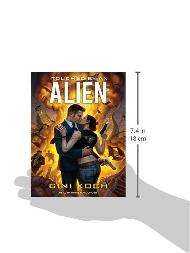 Touched by an Alien (Alien Novels) by Tantor Audio