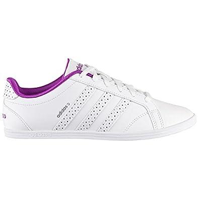 size 40 06805 9ee0c adidas CONEO QT VS W, Low-Top Femme - Blanc - Weiß (Weiß
