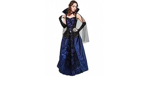 SEA HARE Disfraz de Reina de Vampiro Mujer Adulta: Amazon.es ...