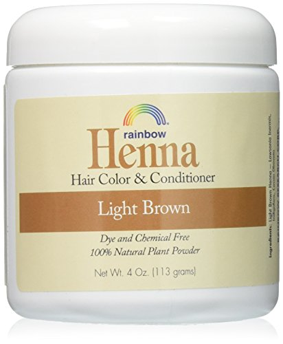 RAINBOW RESEARCH HENNA,PERSIAN LIGHT BROWN, 4 OZ Pack of 2 ()