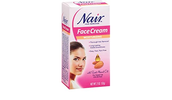 Nair Hair Removal Cream for Face with Special Moisturizers, 2-Ounce Bottles (Pack of 4) by Nair: Amazon.es: Belleza