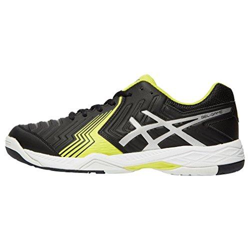 Asics Gel Game 6 Mens Tennis Shoes Schwarz