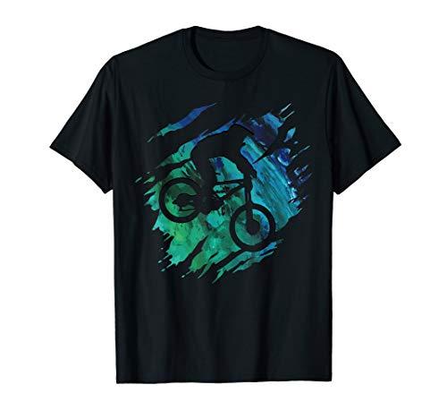 Mountain Bike Tee Shirt Downhill MTB T-Shirt Biking Gift T-Shirt