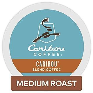 Caribou Coffee Caribou Blend, Single-Serve Keurig K-Cup Pods, Medium Roast Coffee, 32 Count