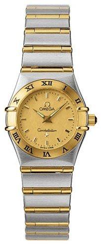 Omega Mini Constellation 1262.10 - Reloj de Pulsera para Mujer