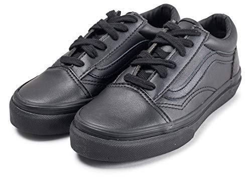 Blk Mono Suede Vans classic Old Baskets Tumble Mixte Enfant Skool x1aawOqnpT