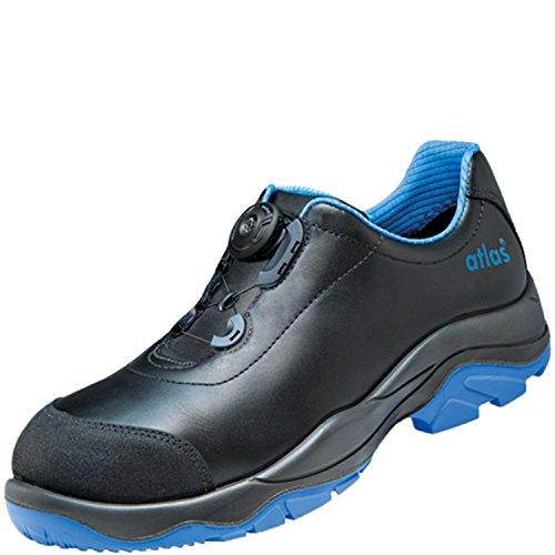 ESD de seguridad Zapatilla de SL 9645XP Boa Blue en Alcance 10según EN ISO 20345S3Src de Atlas negro azul