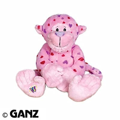 Webkinz Plush Stuffed Animal Love Monkey Valentine from ganz