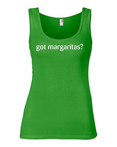 ShirtLoco Women's Got Margaritas Tank Top, Green Apple Large
