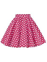 Kids Vintage 50's Full Circle Girls Swing Skirt