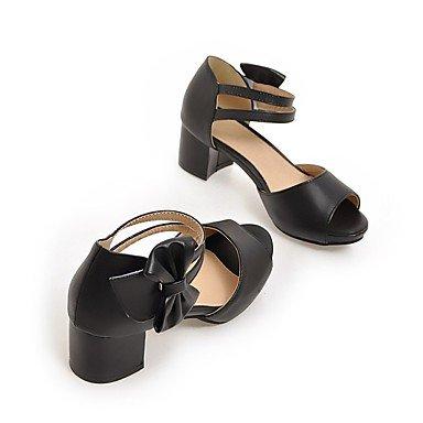 SHOES-XJIH&Uomini sandali sandali estivi Casual in pelle tacco piatto altri marrone / Khaki altri,Kaki,US7 / EU39 / UK6 / CN39