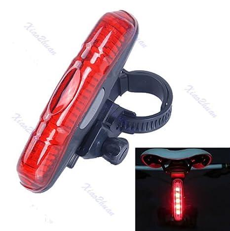 LED Super Hell Warnung Fahrradlicht Fahrradr/ücklicht F/ür MTB Haorw Fahrrad R/ücklicht