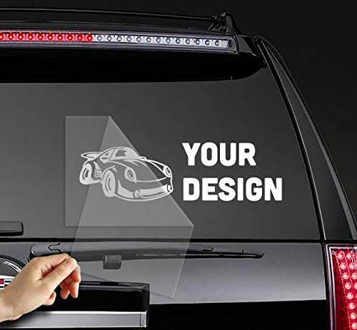 Poloran I Love My Alano Espanol Custom Made Last Name Bumper Rear Window Stickers Decals Personalized White Script Font 2