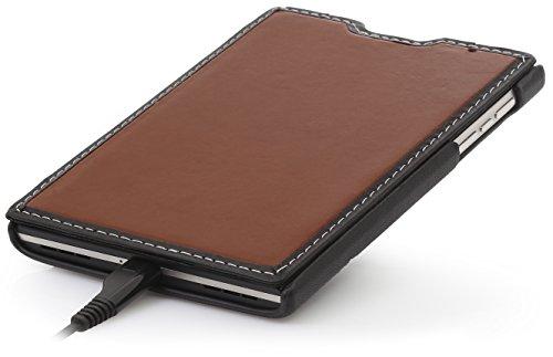 Book Cover Black Berry : Stilgut book type genuine leather case for blackberry