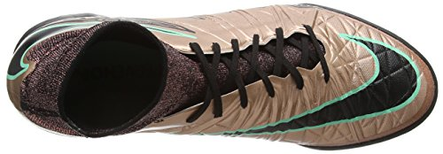 Nike Mens Hypervenomx Proximo Ic Scarpe Da Calcio Indoor Metallic Bronze Black White 903