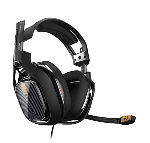 ASTRO Gaming A40 TR Gaming Headset for PC, Mac - Black (2017 Model) ()