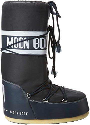 denim Blu Boot Nylon Moon 064 Neve Unisex Da Blue Stivali Adulto F8qdqw0y
