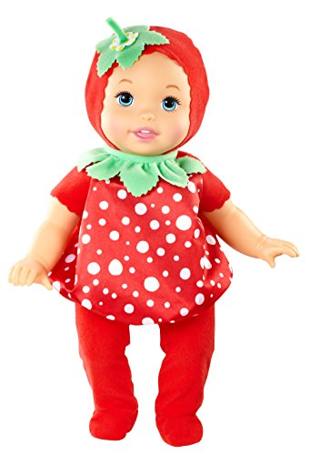 Strawberry Doll Costumes (Little Mommy Sweet As Me Garden Party Strawberry Doll)