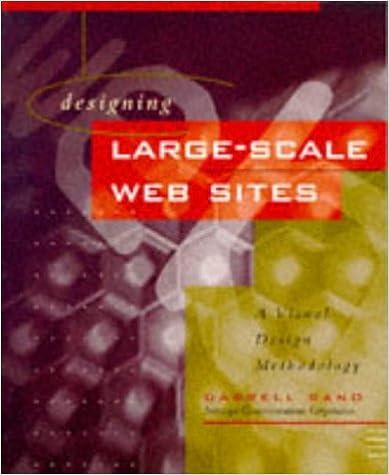 Designing Large Scale Web Sites A Visual Design Methodology Sano Darrell 9780471142768 Amazon Com Books