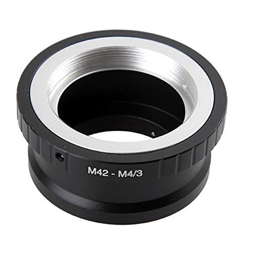 MFT, M4//3 Compatible con EP1 EP3 EPL1 EPL2 EPL3 G1 GF1 GH1 M42-M43 Loopunk M42 a Micro 4//3 Adaptador Adaptador de Montura para Lente M42 a Micro 4//3 Cuatro Tercios