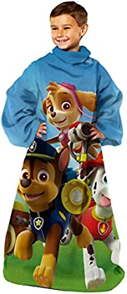 "Nickelodeon's Paw Patrol, ""Race to the Rescue"" Youth Comfy Throw Blanket with Sleeves, 48"""
